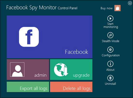 Facebook Spy Monitor 2.96